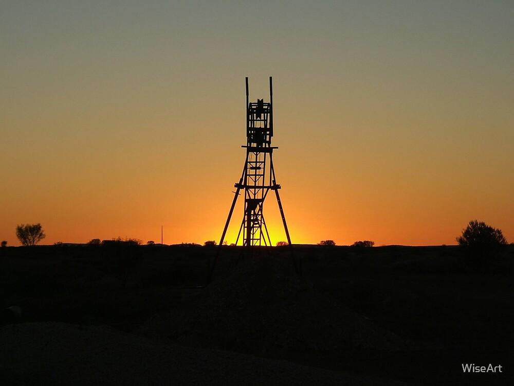 Sunset Opal Mine by WiseArt