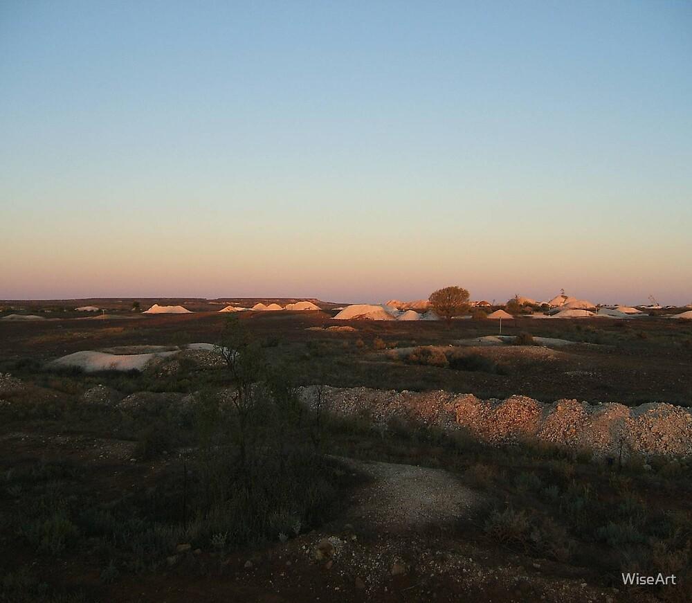 Opal Mining by WiseArt