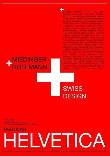 'Helvetica' Poster by samturner