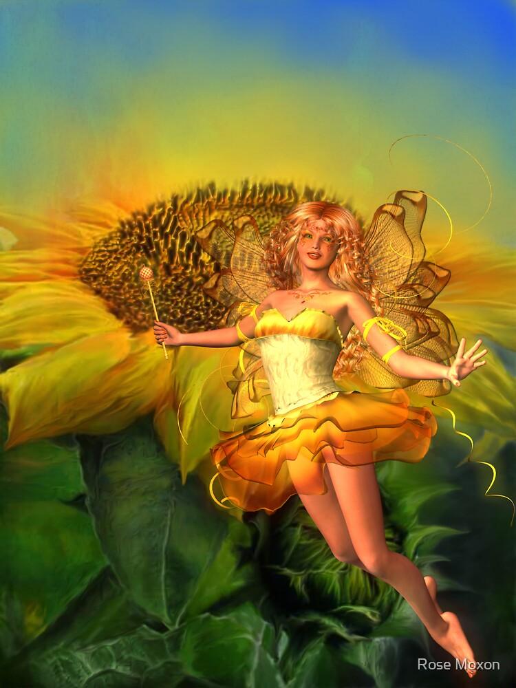 Sunflower by Rose Moxon