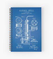 Alcohol Still Spiral Notebook