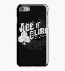 Ace O Clubs iPhone Case/Skin