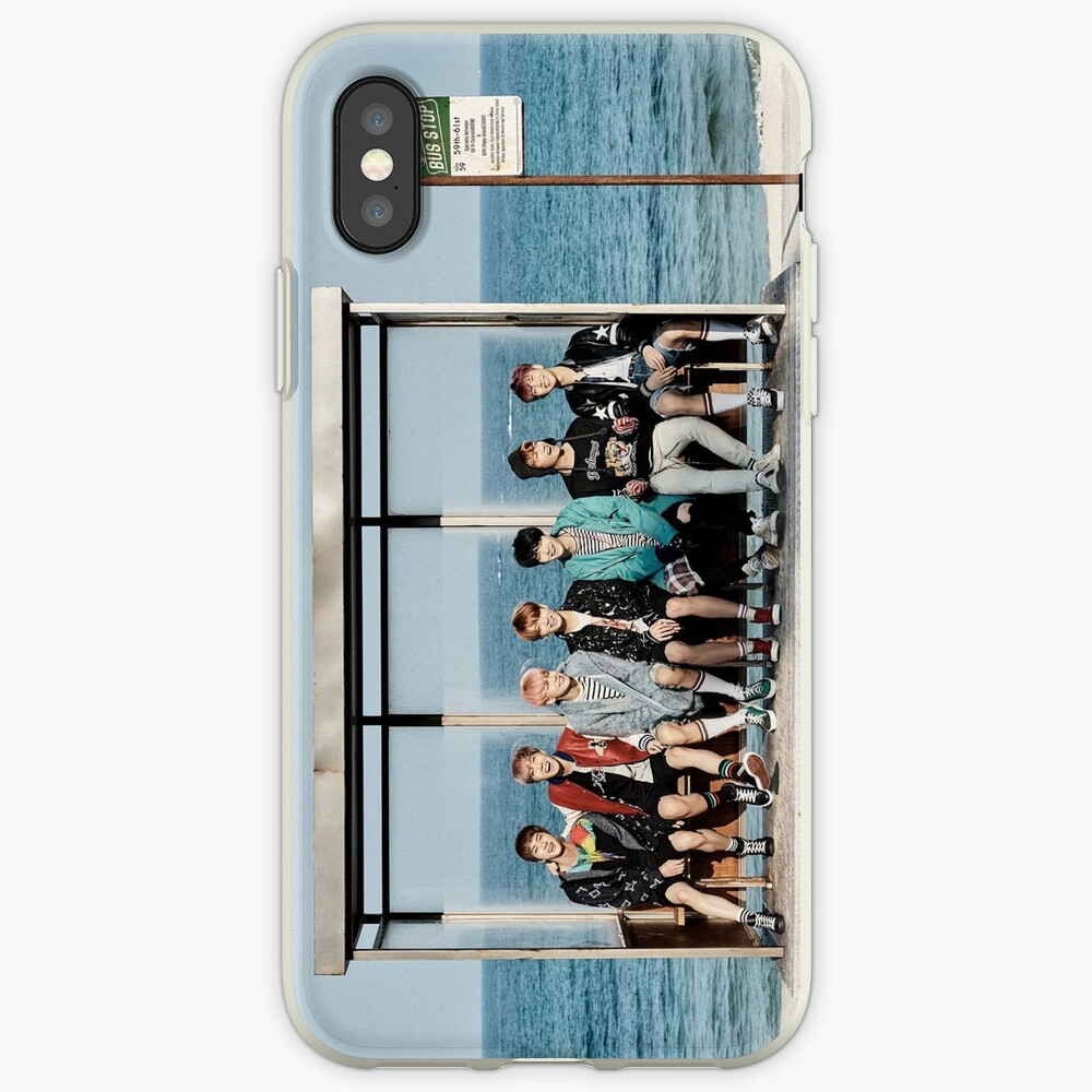 BTS - YOU NEVER WALK ALONE GROUP #1 iPhone-Hüllen & Cover
