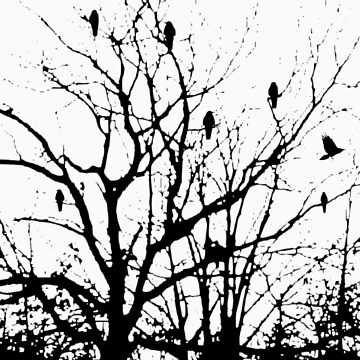 The Raven Tree by SketchRaven