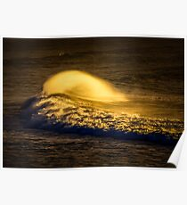 Bells Beach Glow Poster