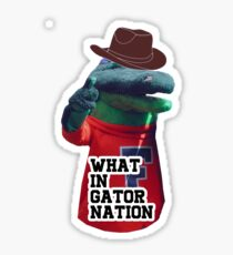 Gator Nation Meme Sticker