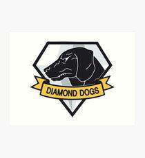 Diamond Dogs Art Print