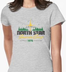 Camp North Star Womens Fitted T-Shirt