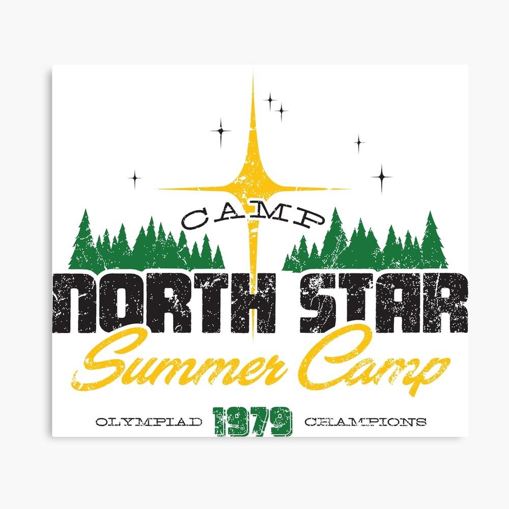 Camp Nordstern Leinwanddruck