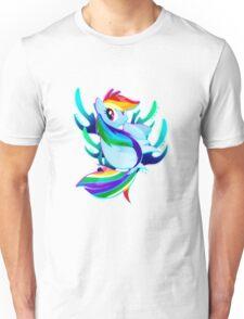 Seapony Rainbow Dash Unisex T-Shirt