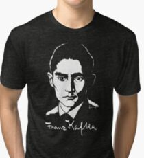 Franz Kafka (Dark) Tri-blend T-Shirt