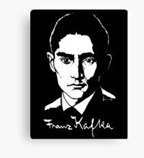 Franz Kafka (Dark) Canvas Print