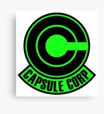 Capsule Corp Green  Canvas Print