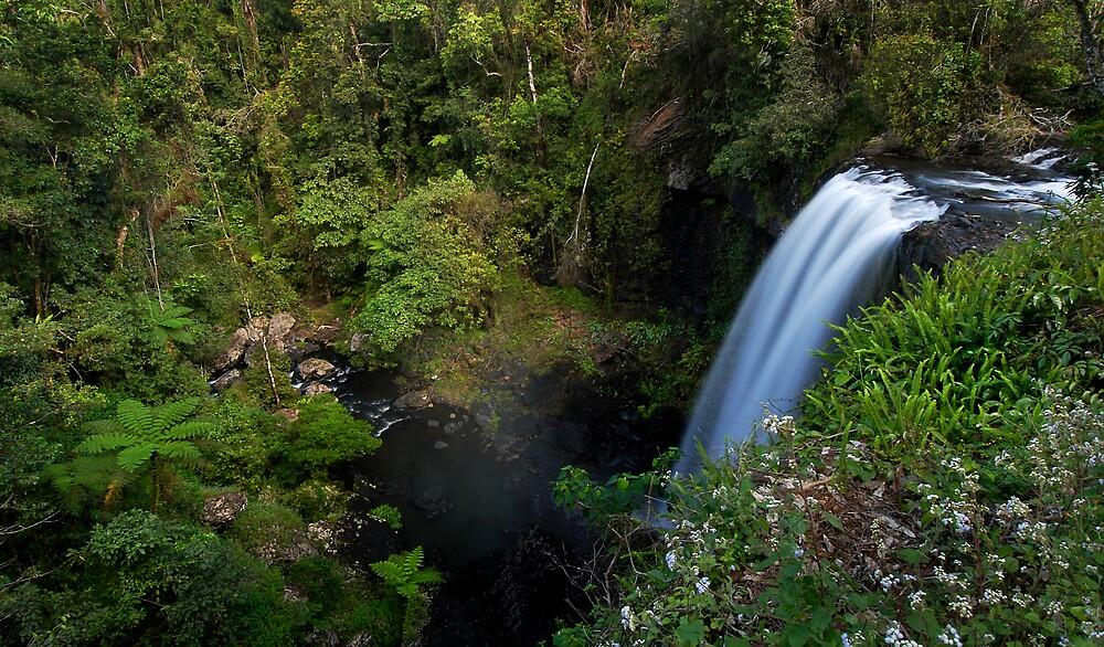 Tableland Waterfalling by Robert Mullner