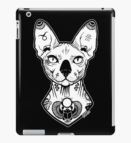 sphynx tattooed iPad Case/Skin