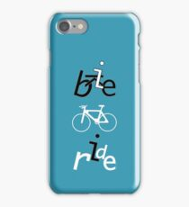 Bike Ride design iPhone Case/Skin