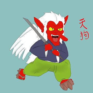 Tengu legendary creature by SoulWolfz