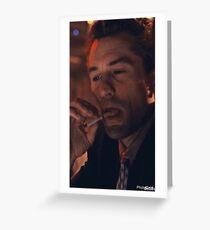 Jimmy Conway 'Robert De Niro' Goodfellas  Greeting Card