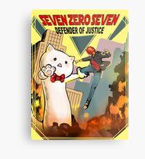 SEVEN ZERO SEVEN Mystic Messenger Collection Metal Print
