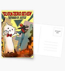 SEVEN ZERO SEVEN Mystic Messenger Collection Postcards