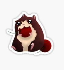 Hamster Cherry Sticker