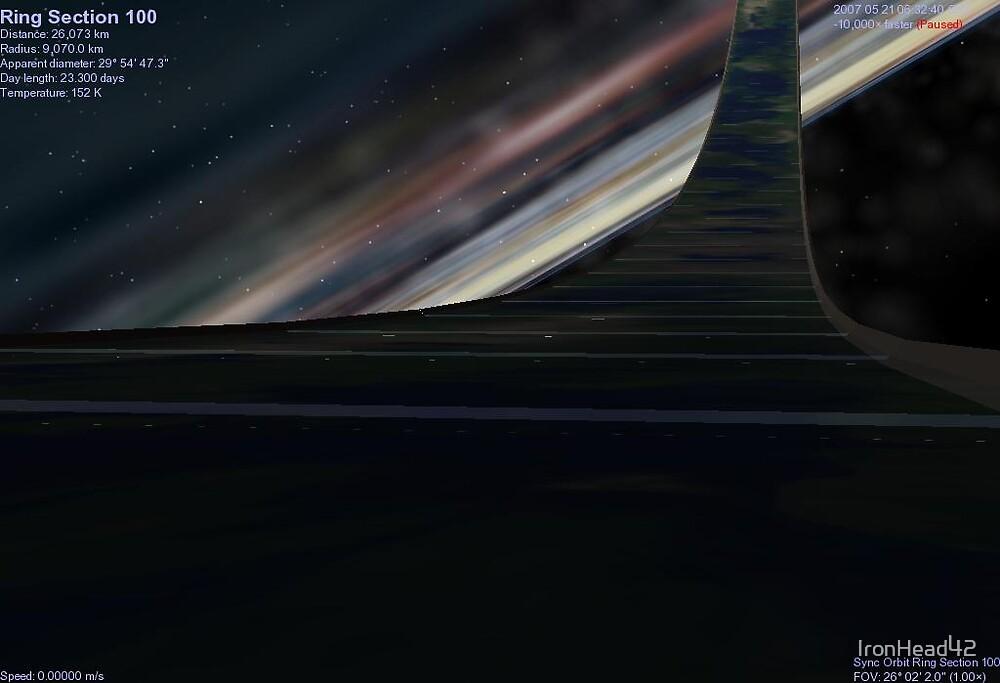 Dusk on Greenring Orbital by IronHead42