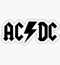 AC DC  Sticker