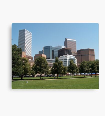 Denver Colorado Canvas Print