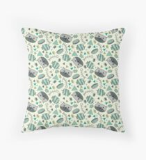 Sophies cats light Throw Pillow