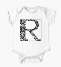 R Shadow | Typography One Piece - Short Sleeve