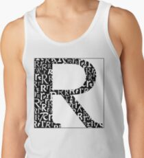 R Shadow | Typography Tank Top