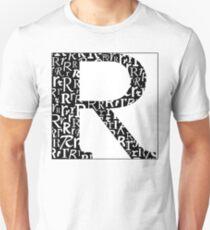 R Shadow | Typography Unisex T-Shirt