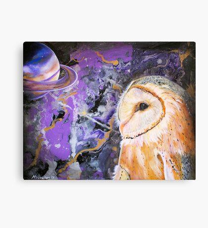 "Cosmic Owl - ""Aspirations"" Canvas Print"