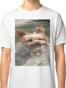 A Yorkie's Smile Classic T-Shirt
