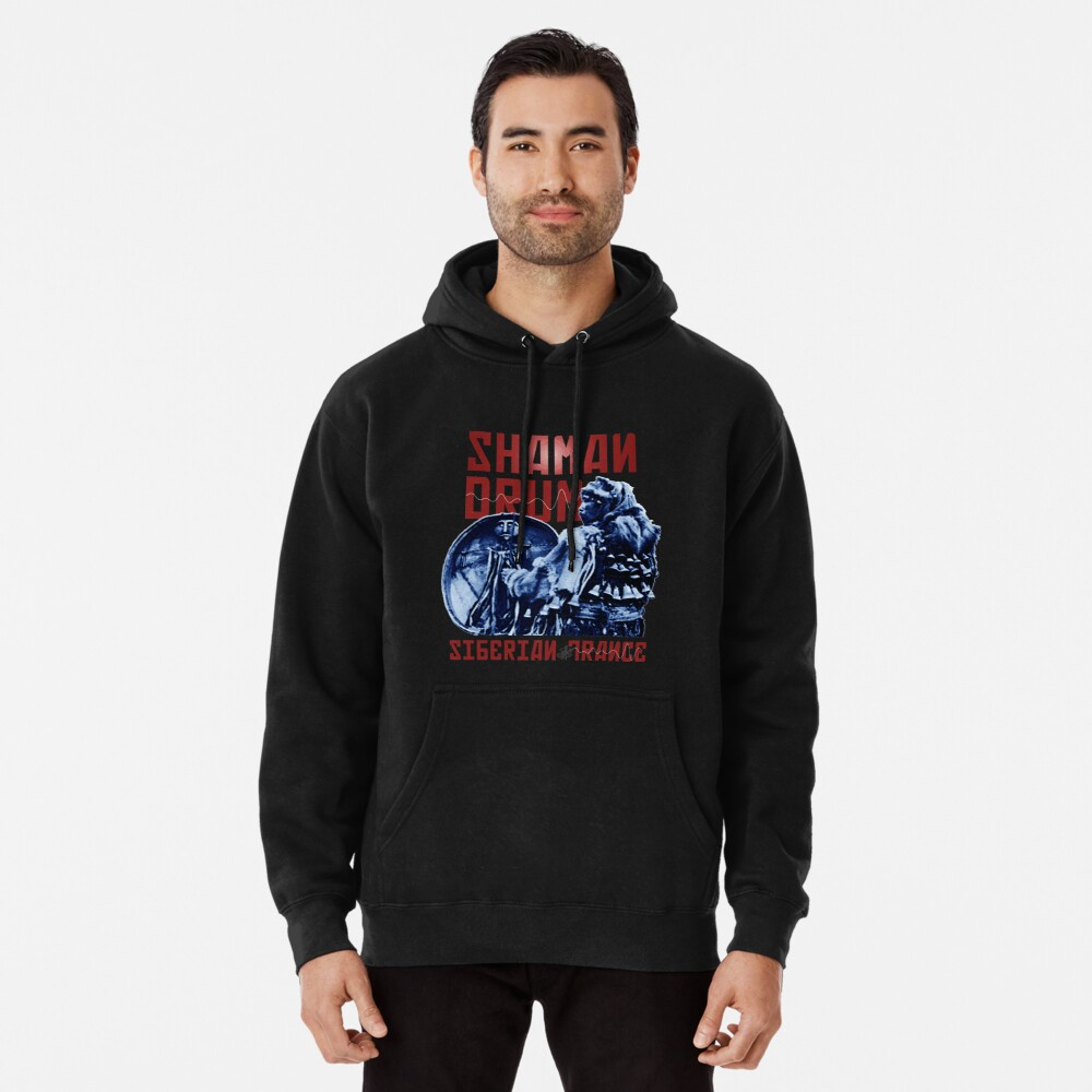 Shaman Drum Siberian Trance Pullover Hoodie