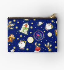 Beauty and the Beast pattern Studio Pouch