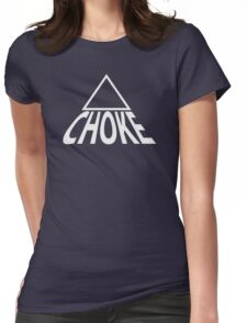 Triangle Choke Jiu Jitsu Design (BJJ / Judo / Wrestling) Womens Fitted T-Shirt