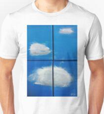 Clouds & Windows (Oils - quadriptych 30 x 20cm) Unisex T-Shirt