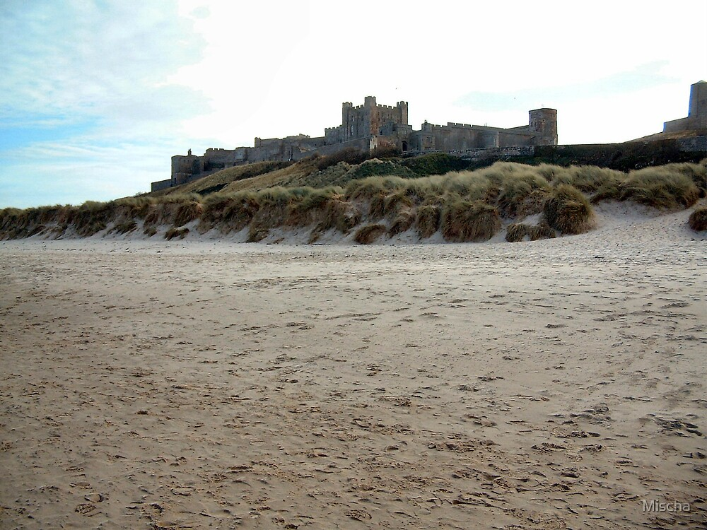 The Castle's Own Beach by Mischa