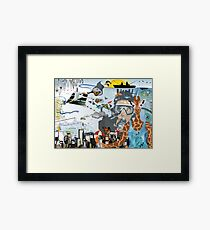 AKINOLAUDE Framed Print