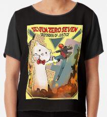 SEVEN SEVEN ZERO-Sammlung Mystic Messenger Chiffontop