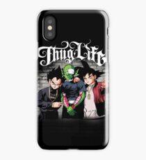 Thug life Goku, piccolo, Vegeta iPhone Case
