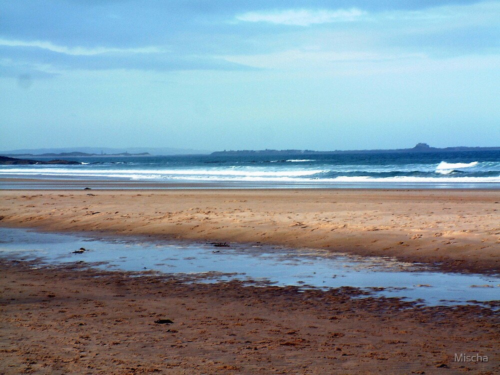 Northumbland Beach by Mischa