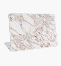 White Marble Carrara Calacatta Laptop Skin