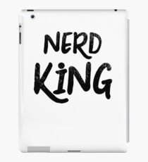 Nerd King iPad Case/Skin