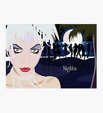 NIGHTS Photographic Print