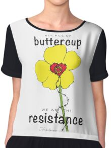 Buttercup Resistance Chiffon Top