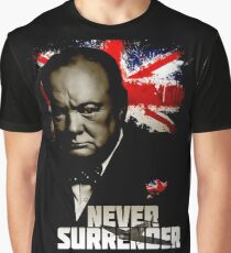 Allied Nations - Winston Churchill Graphic T-Shirt