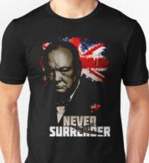 Verbündete Nationen - Winston Churchill Unisex T-Shirt