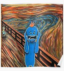 Mr. Meeseeks The Scream Poster